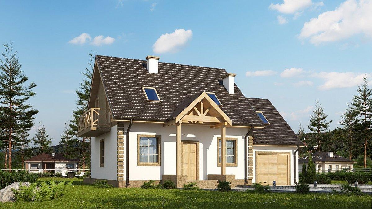 Проекты домов с гаражом своими руками