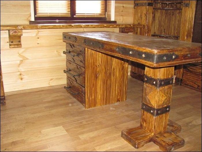 Мебель для дома из дерева своими руками 768