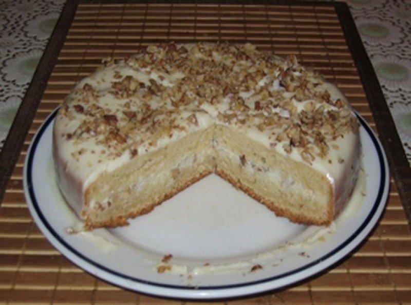 Рецепт простого торта в домашних условиях сметанник 438