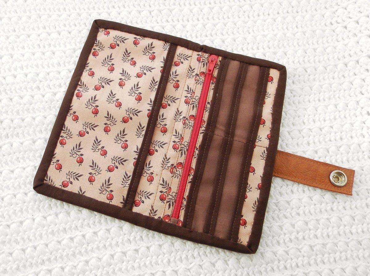Бумажник из ткани своими руками 26