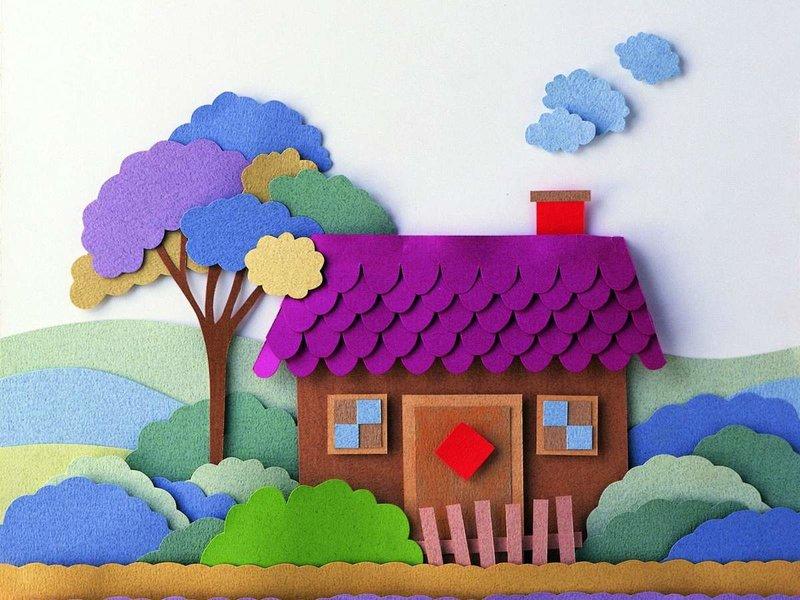 Как сделать аппликацию для детского сада