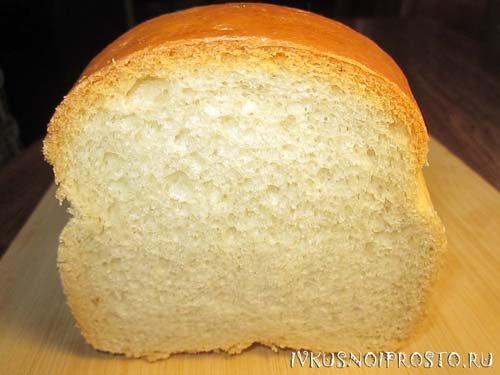Рецепт белого хлеба простой рецепт