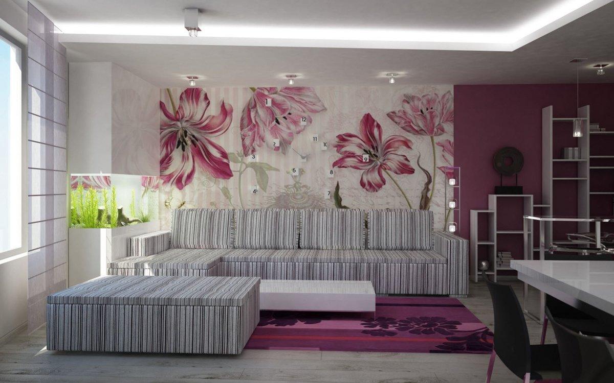 Как красиво и стильно сделать зал