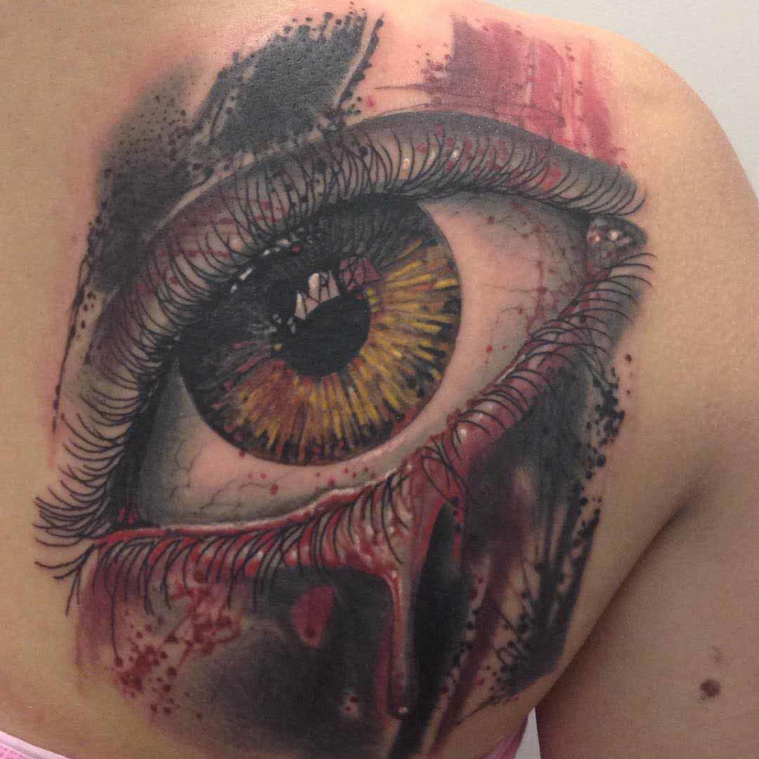 Татуировки глаза и их значение фото
