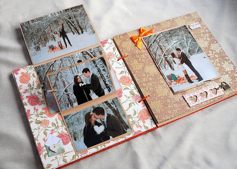 Как оформить фотоальбом своими руками в подарок