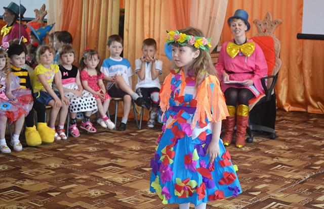 Сценарий детского показа мод на