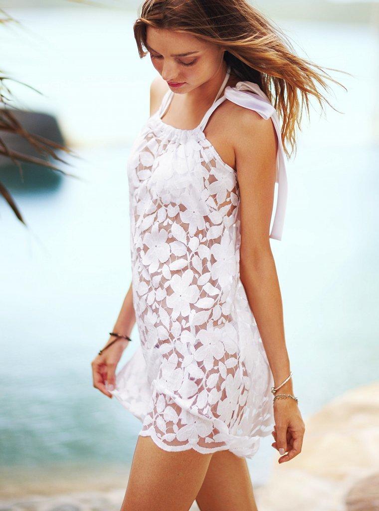 Белое летнее платье своими руками 18