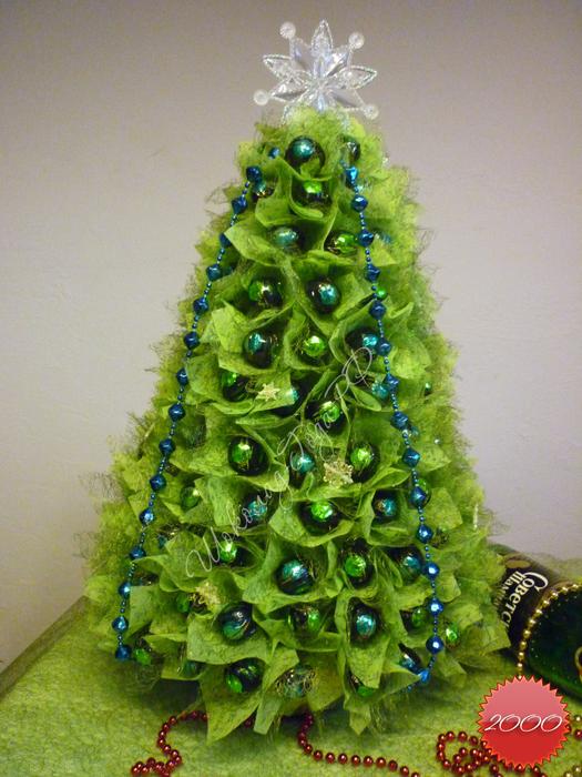 Поделка елки на новый год своими руками