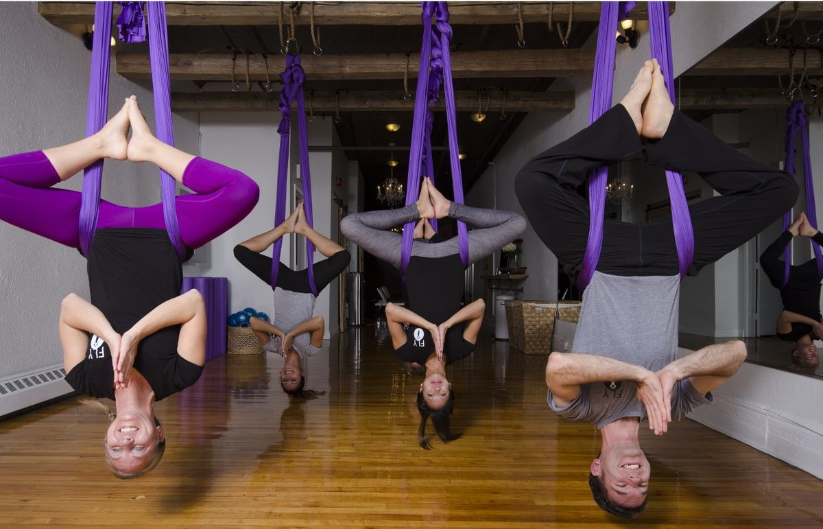 Антигравити йога для беременных 887