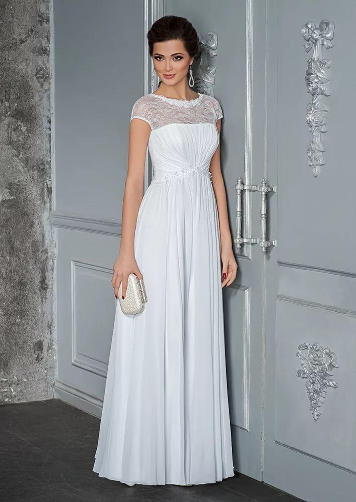Свадебные платья прямые для беременных