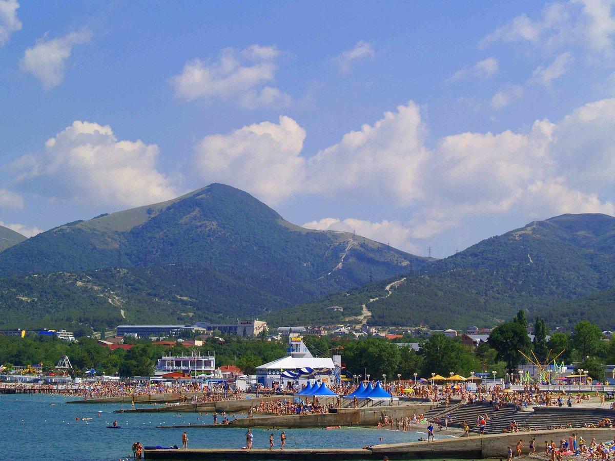 Кабардинка краснодарский край фото поселка и пляжа