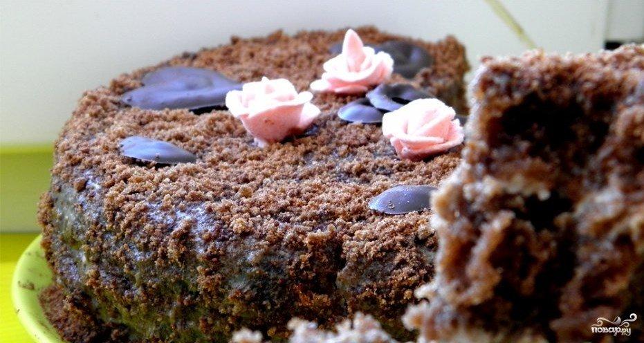 Бисквит без яицы с фото