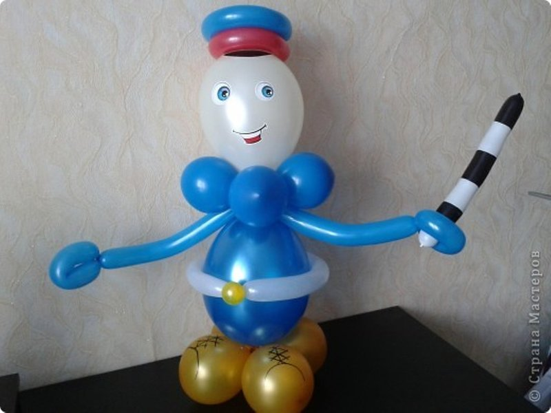 Воздушные шары фигуры своими руками фото