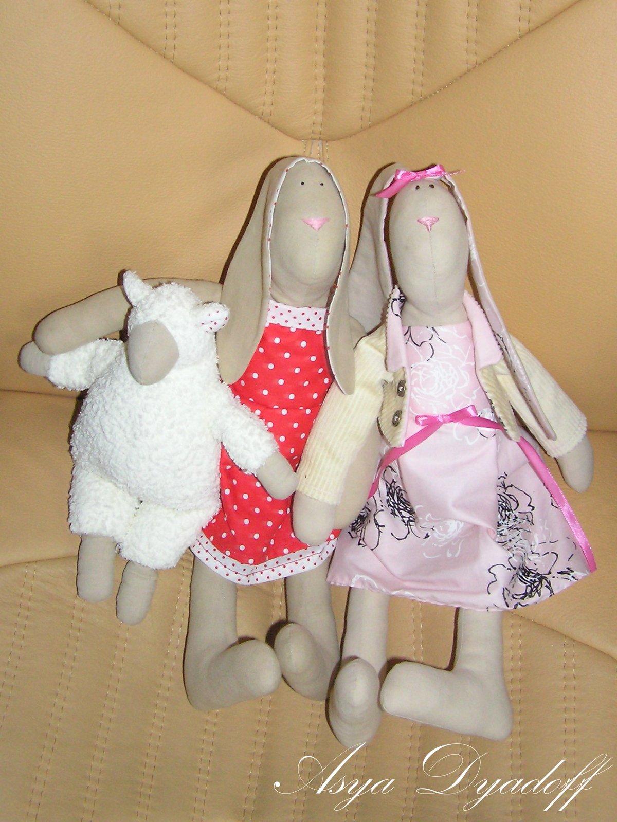 Как сшивать тильду зайца своими руками