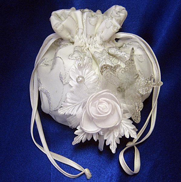Свадебные сумочки невесты своими руками