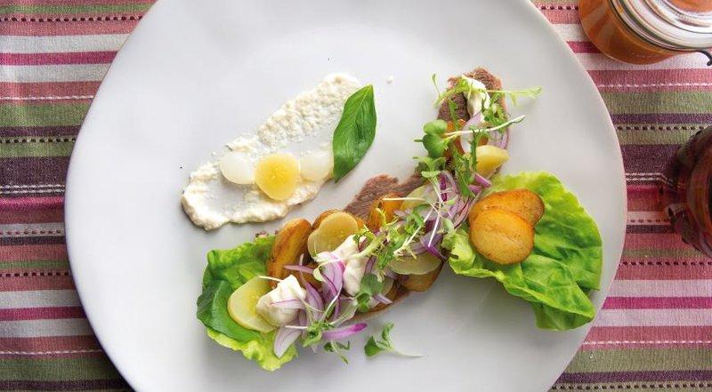 Рецепты блюд салатов из языка