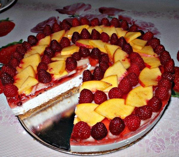 Чизкейк с фруктами рецепт с фото в домашних условиях