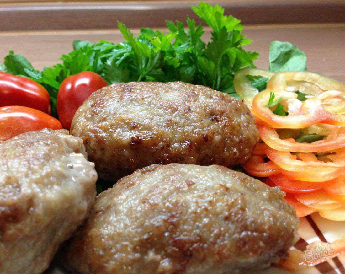 Котлеты из говядины и свинины сочные рецепт