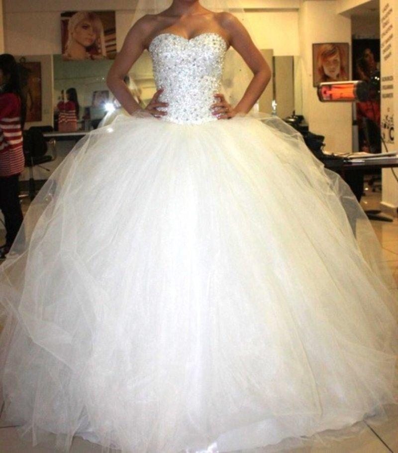 Свадебные платья пышные очень красивые