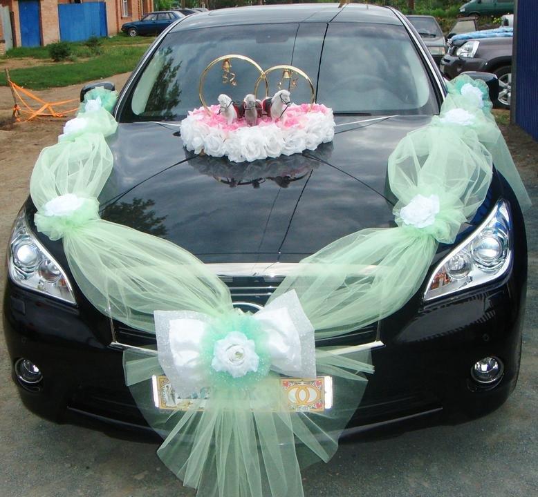 Как своими руками сделать свадебные украшения на машины