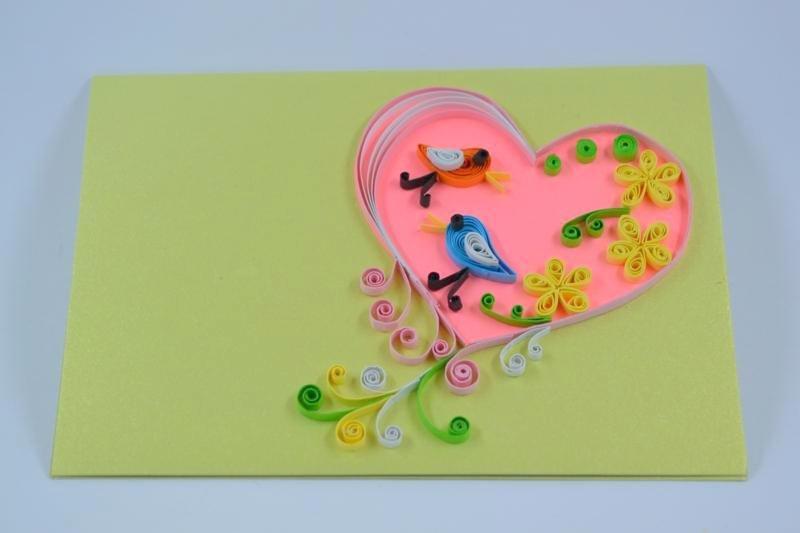 Сделай сам открытка на день святого валентина своими руками