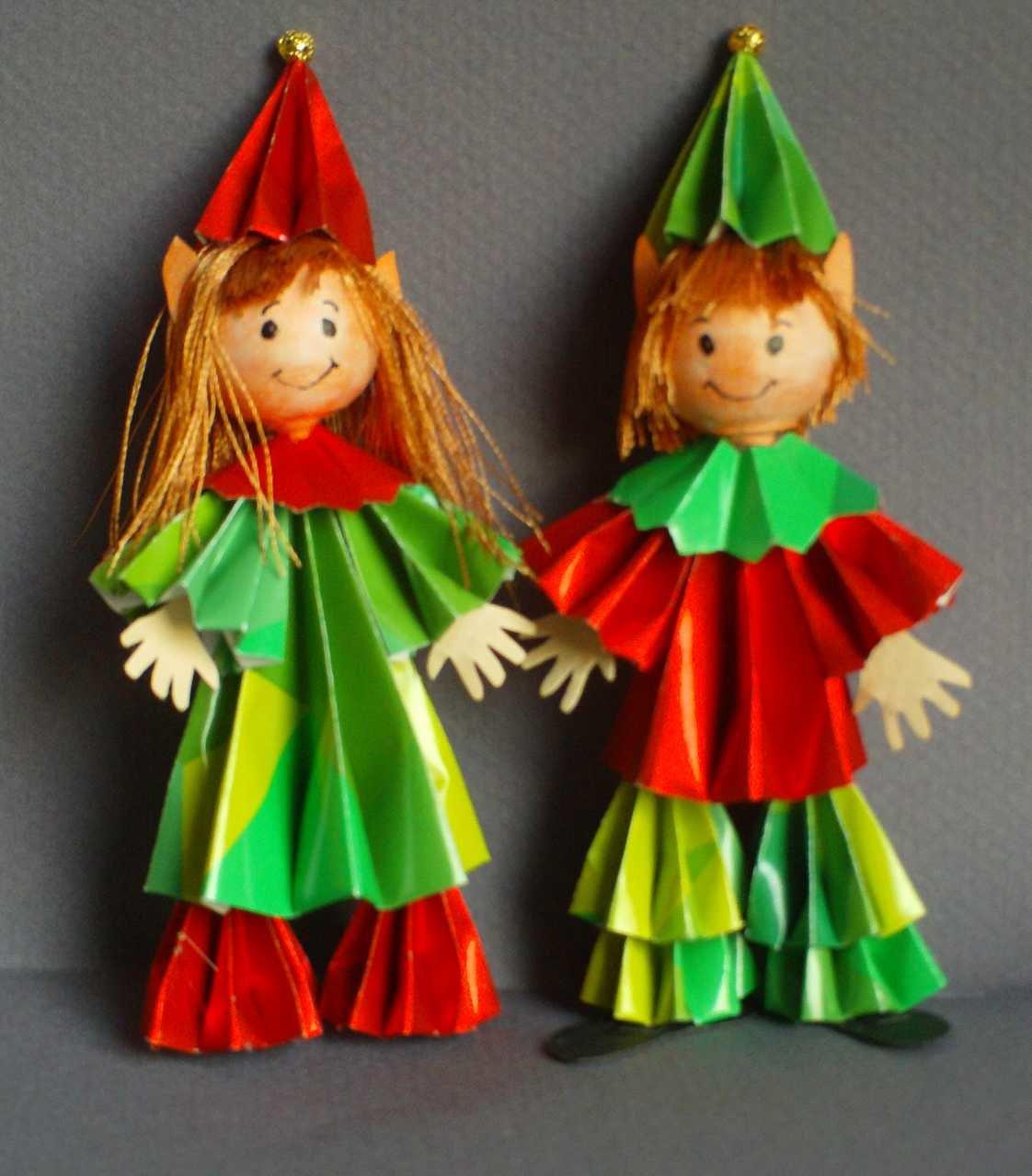 Поделки куклы с оригами 94