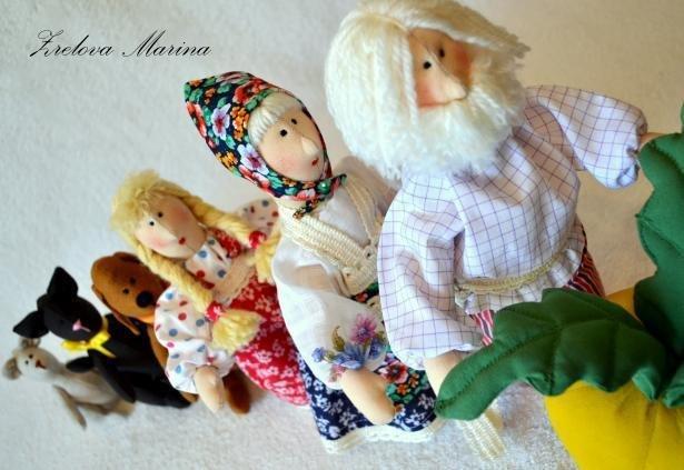 Сказка репка куклы своими руками