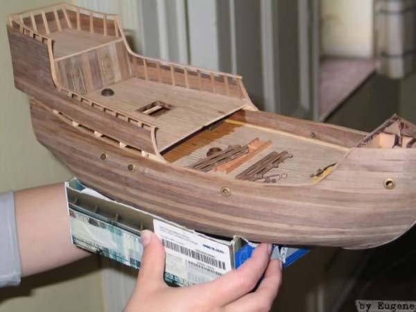 Как сделать модели кораблей