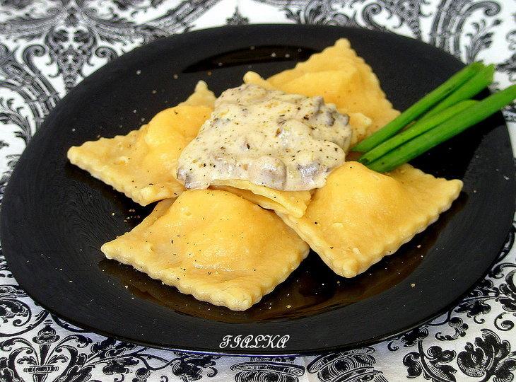 Равиоли рецепт с сыром рецепт пошаговый