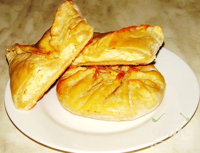 Тесто для хачапури с сыром и ветчиной