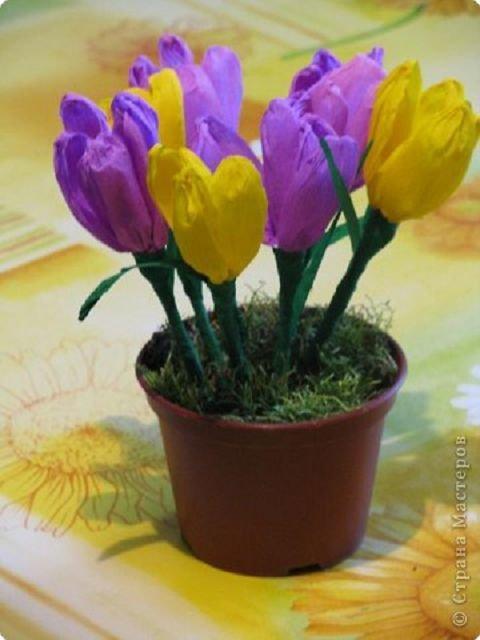 Поделки для весны для сада
