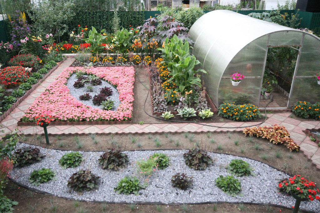 Дизайн садовый участок своими руками фото 61