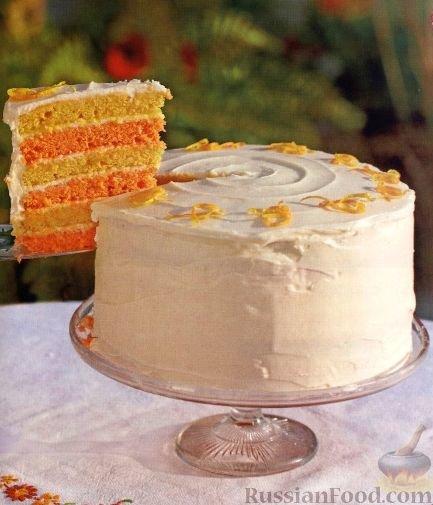 Рецепт праздничного торта с фото в домашних условиях