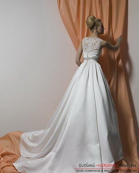 Самостоятельно сшить себе свадебное платье