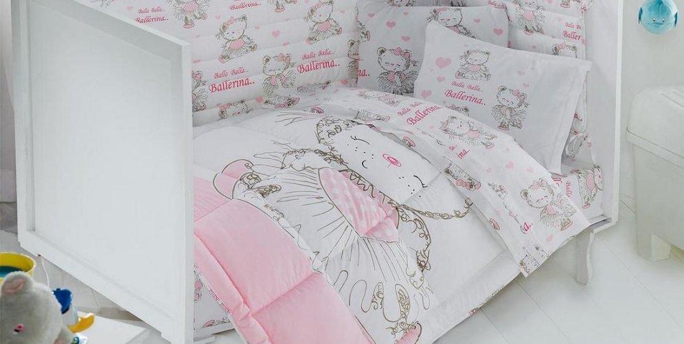 Как сшит детское постельное белье