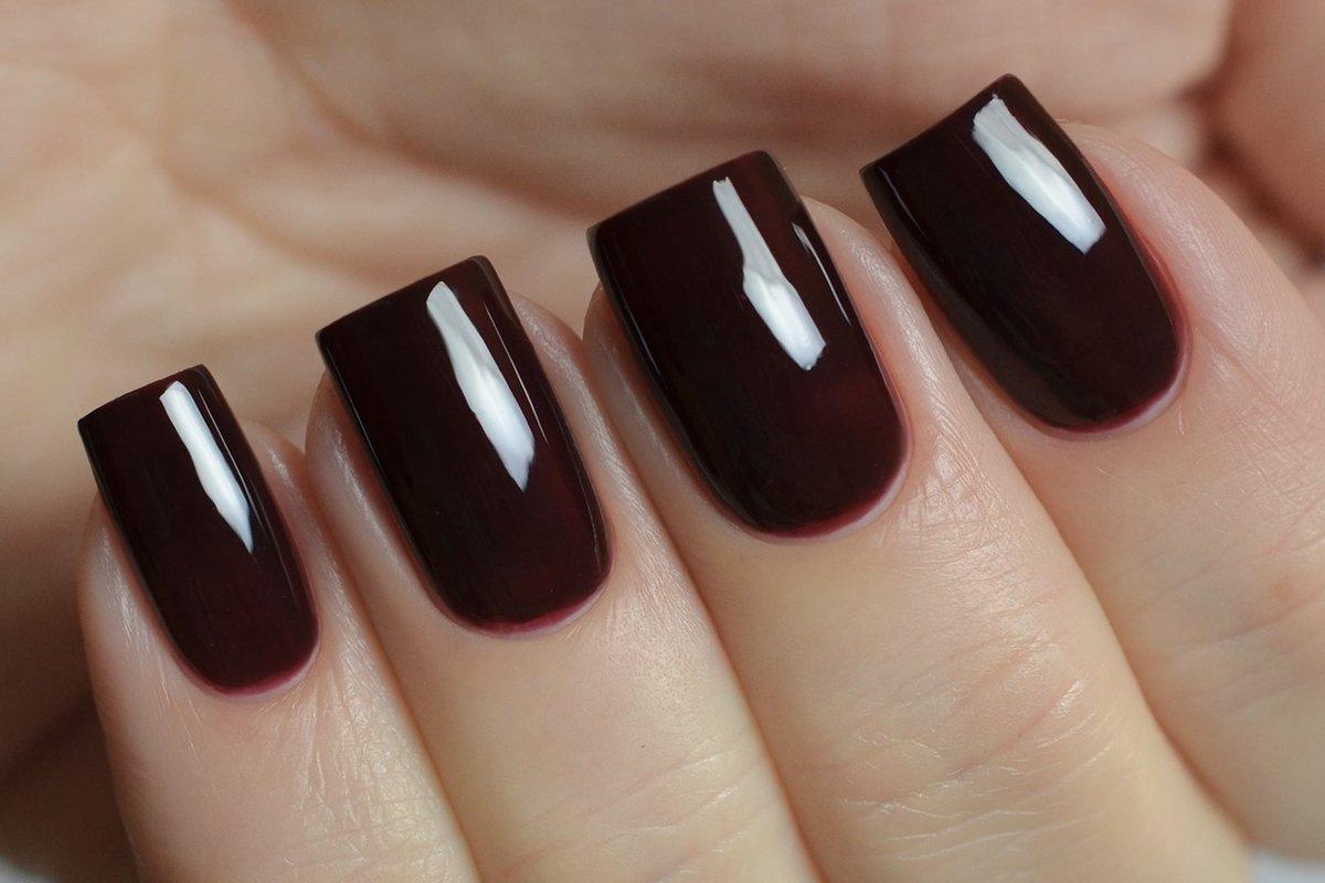 Бордовый - модный цвет лака для ногтей - Women s Health 9