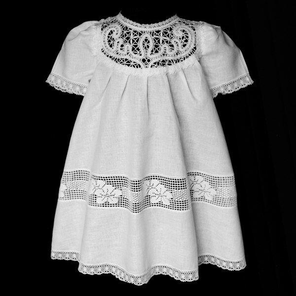 Крестильная платье для девочки своими руками 209
