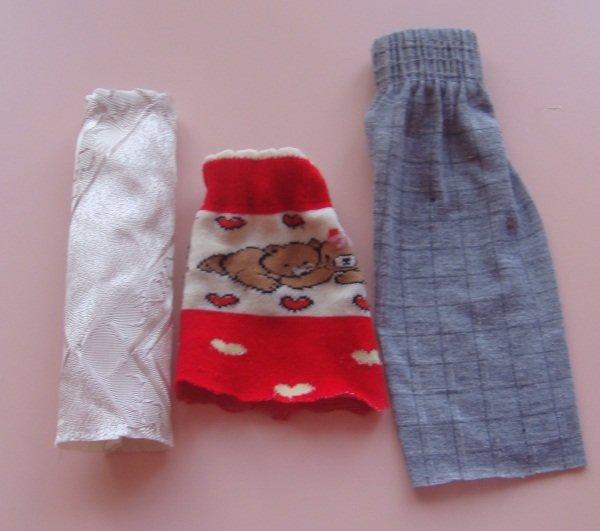 Одежда для барби старых вещей