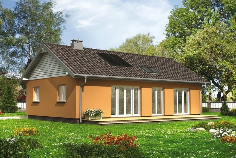 Готовые проекты домов эконом дом