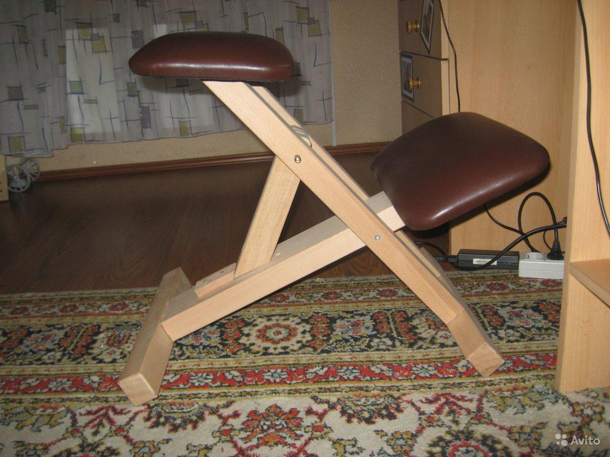 Как сделать столик из старого офисного стула - каталог статей 33