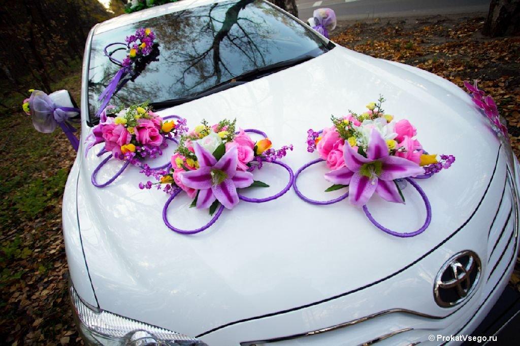 Свадебный декор машины своими руками 70