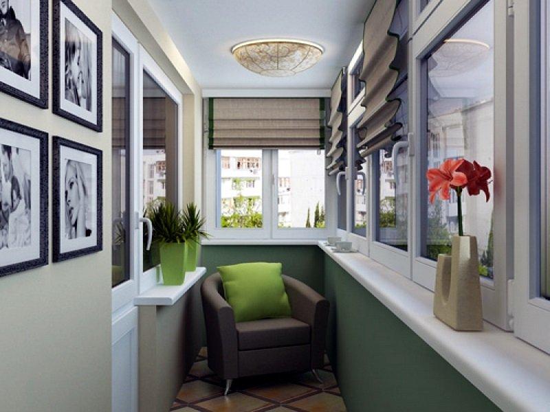 Фото дизайна балконов. интерьер балконов
