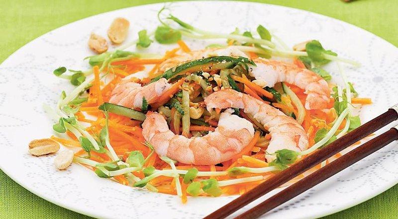 Вкусные и простые салаты китайские с