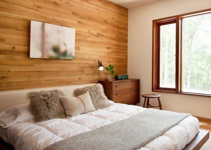 Как сделать обои в деревянный дом 184