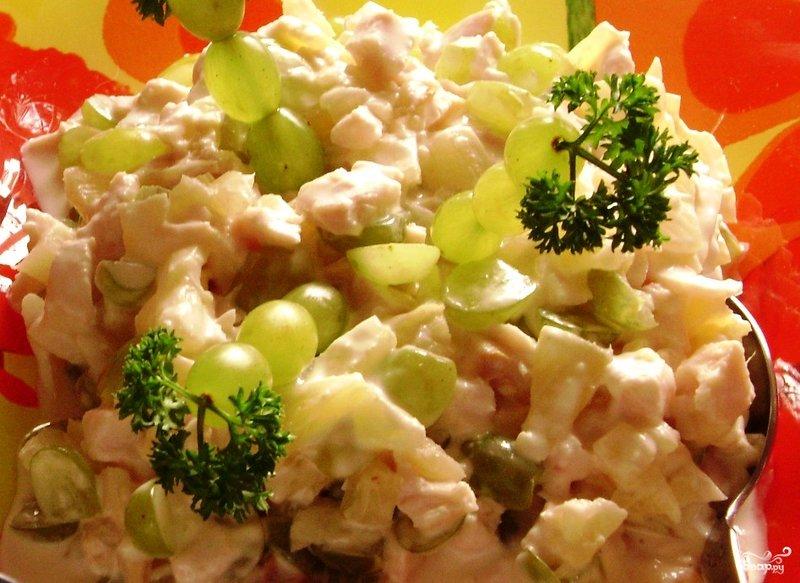 Рецепт салат дамский каприз