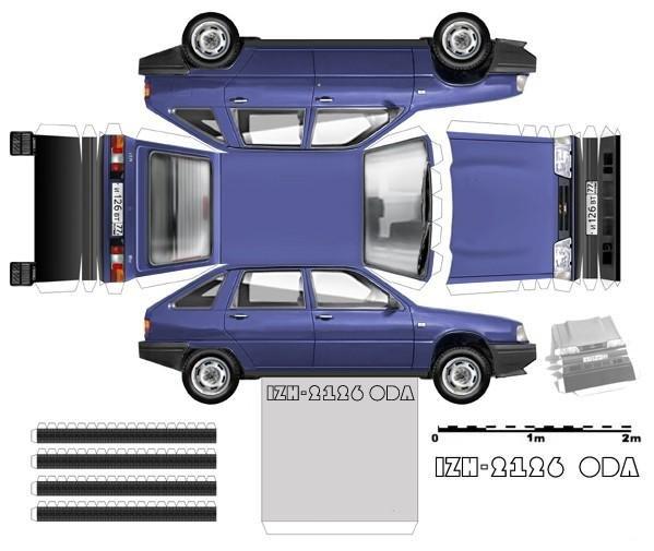 Схема-авто поделки для авто своими руками