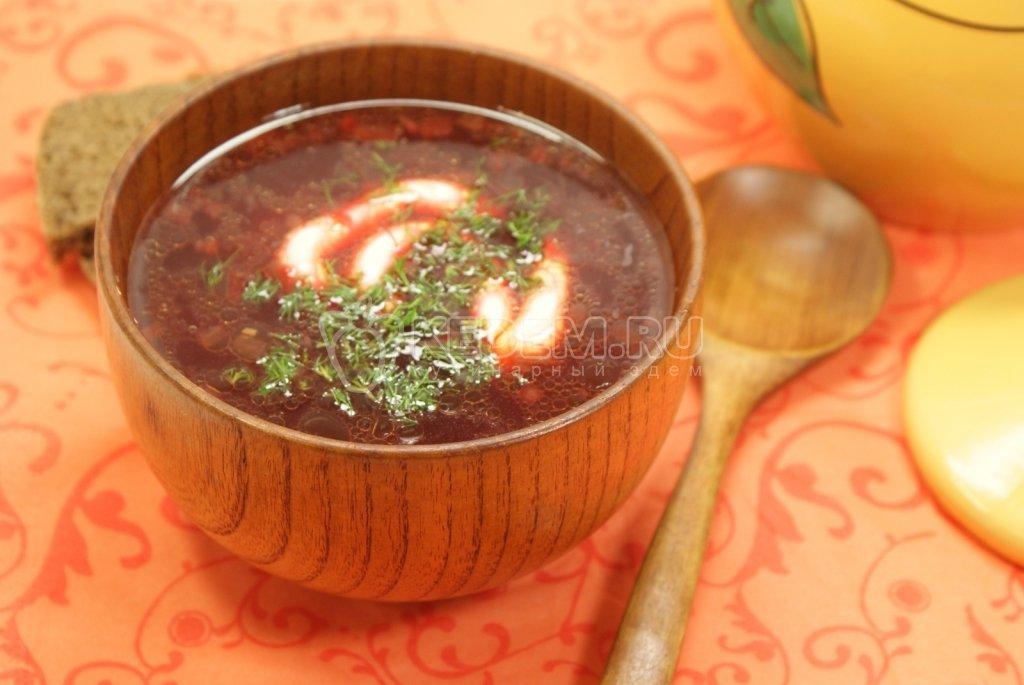 Свекольник суп рецепт с фото пошагово