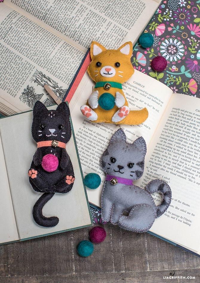 Маленькие кошки своими руками 485