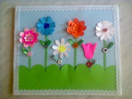 Открытки для воспитателя детского сада своими руками с фото