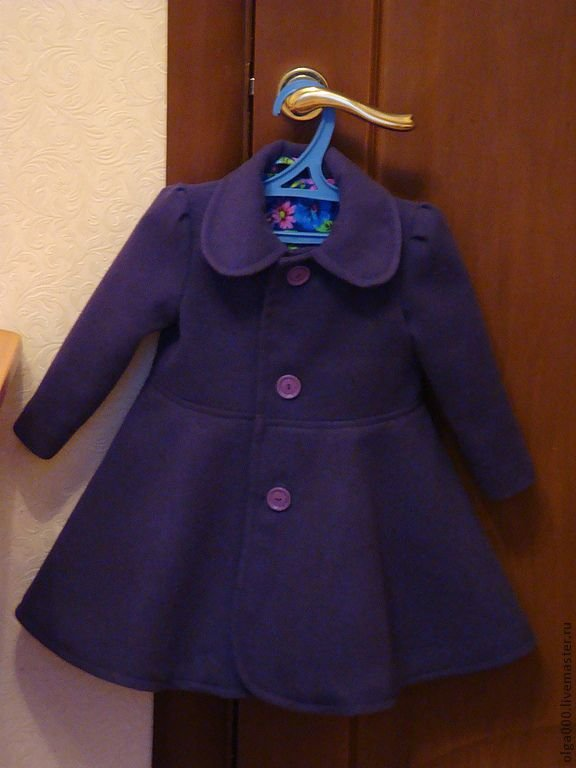 Перешить пальто своими руками для девочки 54